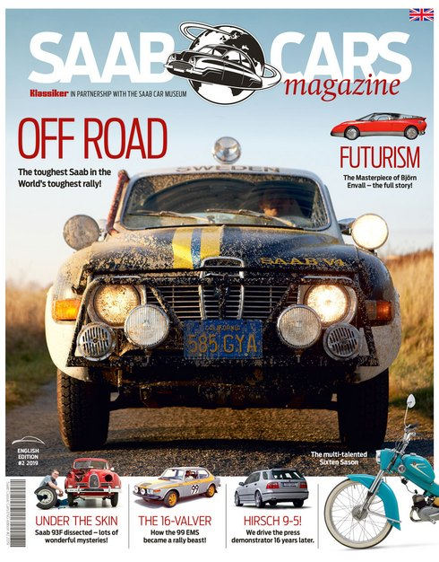 Saab Cars Magazine cover